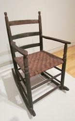 Arm chair with rockers