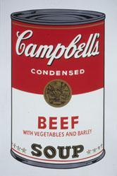 Beef with Vegetables and Barley, from the Campbell's Soup I Portfolio
