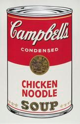 Chicken Noodle Soup, from the Campbell's Soup I Portfolio