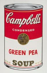 Green Pea Soup, from the Campbell's Soup I Portfolio