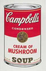 Cream of Mushroom Soup, from the Campbell's Soup I Portfolio