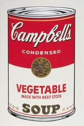 Vegetable made with Beef Stock Soup, from the Campbell's Soup I Portfolio