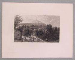 Rock or Stone Mountain from American Scenery Illustrated