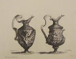 Two Vases, from Ornaments, Vases, et Decorations