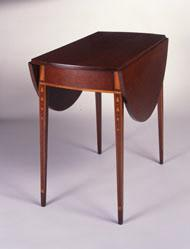 Drop-leaf table, or Pembroke table