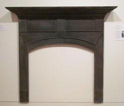 Mantel, from the Cherokee-built, pre-removal home of John Martin near Cartersville in Murray County, Georgia