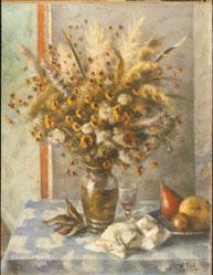 Still Life - Wild Flowers and Grasses