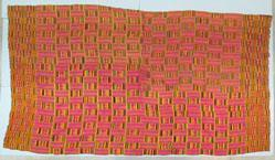 Ceremonial body wrap, Kente