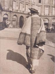 Isadora Duncan At Place Vendome, Paris
