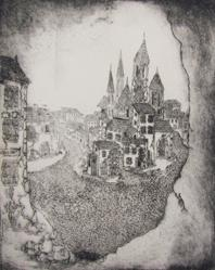 Untitled (View Of Town)