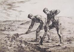 Les Becheurs (The Diggers)