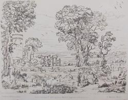 Landscape With Classical Ruins