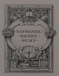 Book Plate For Nathaniel Henry Burt