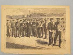 "Crew of the United States Steam-Sloop ""Colorado,"" Shipped at Boston, June, 1861 (from Harper's Weekly, July 13, 1861)"