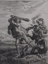 Hercules's Combat With The Hydra