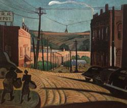 Untitled (View of Broad Street, Athens, Georgia