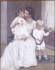 Mrs. Forbes with Children