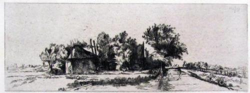 Landscape With Canal And Palisade
