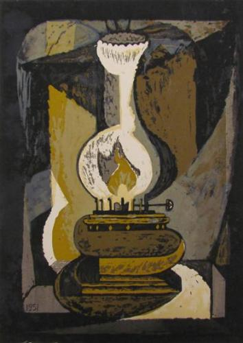 Oil Lamp, From The Miner Series