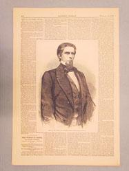 Hon. J.L.M. Curry, of Alabama -- [from a photograph by Brady] (from Harper's Weekly February 18 1860)