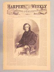 Hon. Roger B. Taney, Chief-Justice of the United States.--[Photographed by Brady.] (from Harper's Weekly, December 8, 1860)