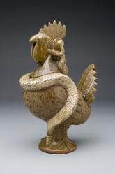 Rooster with Snake