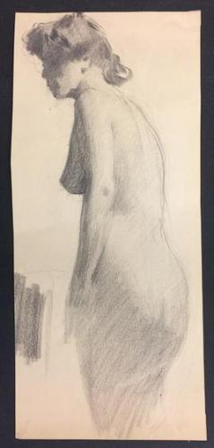 Study for a Bather