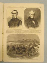 Charge of the First Massachusetts (from Harper's Weekly, May 17, 1862)