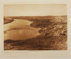 Bow River and the Sand Hills-Blackfoot