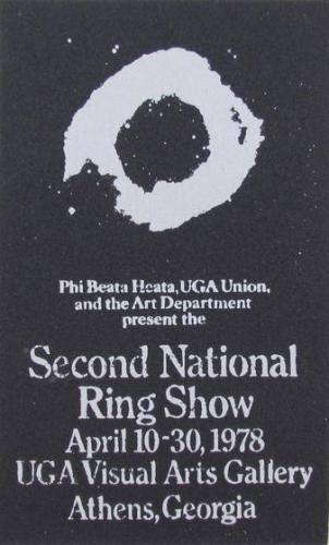 Announcement for Second National Ring Show