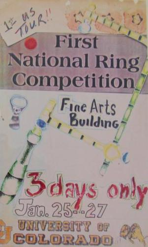 Flyer 1st National Ring Competition, University of Colorado