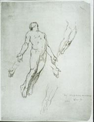 Day, Study For Illustration In The Blessed Damozel, 1886