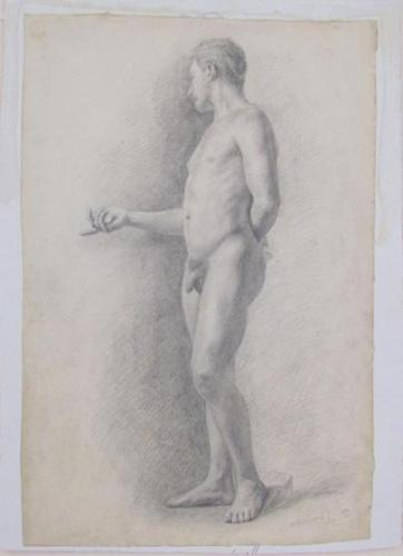 Untitled - Nude Male Standing