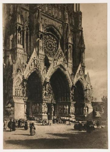 Rheims Cathedral, after Axel Herman Haig