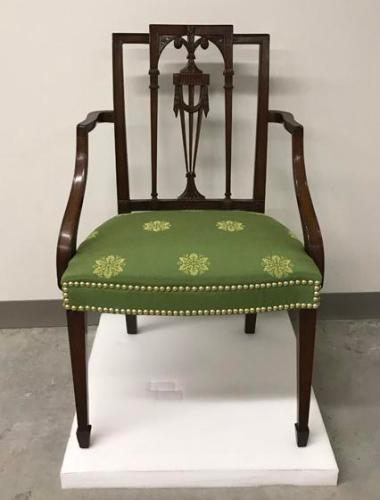 Armchair from the Huger family of Charleston, South Carolina